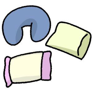 色々な種類の枕