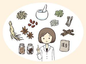 様々な漢方薬を提案する医師