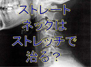 首のレントゲン写真